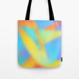 pastel shades of rainbow Tote Bag