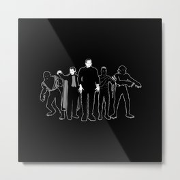 The Monsters! Metal Print