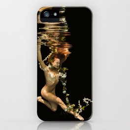 Flower Girl 3 iPhone Case