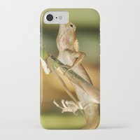 eddie vedder iPhone & iPod Cases featuring Eddie Lizard by Adam Latham Photography