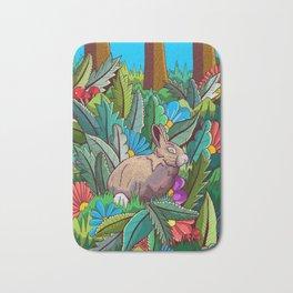 The rabbit of the woods Bath Mat