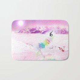 Snowboard & Mountain Bath Mat