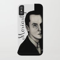 moriarty iPhone & iPod Cases featuring Moriarty by LiseRichardson