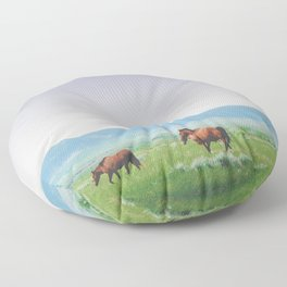 On the Move Floor Pillow