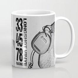 33/45/78 (Black) Coffee Mug