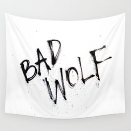Doctor Who bad wolf Wall Tapestry