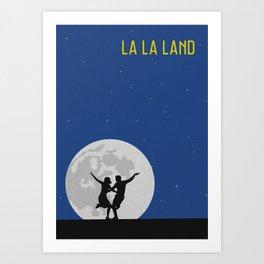 La La Land Minimalist Poster Art Print