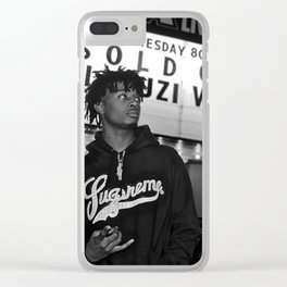 Uzi and Carti Clear iPhone Case