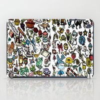 the 100 iPad Cases featuring 100 things by Michelle Behar