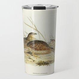 Australian Partridge (Synoicus Australis) illustrated by Elizabeth Gould (1804–1841) for John Gould' Travel Mug