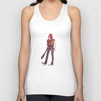 hotline miami Tank Tops featuring Hotline by Clement Danveau