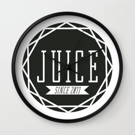 Juice Emblem Wall Clock