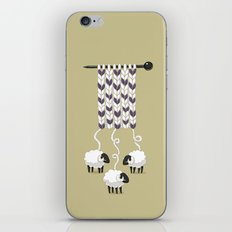 Wool Scarf iPhone & iPod Skin