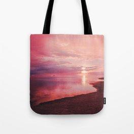 Maldivian sunset 7 Tote Bag