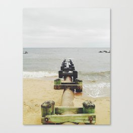 pipedown Canvas Print