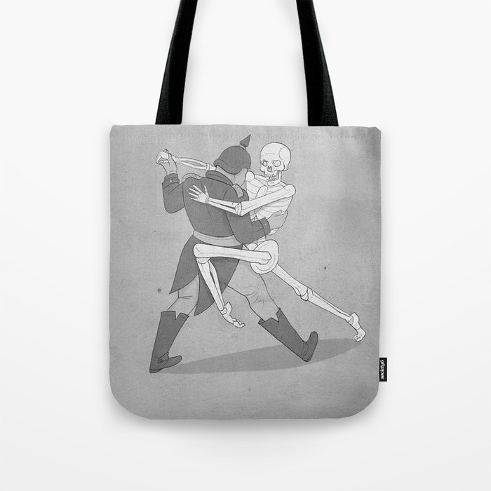 The Lovers- BW Tote Bag