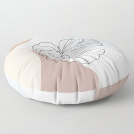 Philodendron Floor Pillow