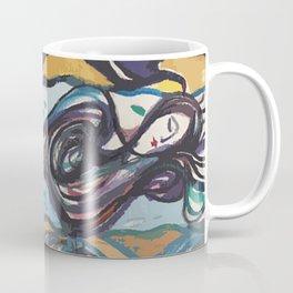 Leda and black swan Coffee Mug