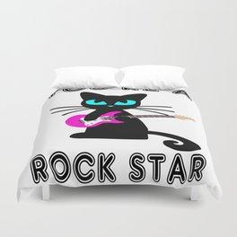 You're a Rockstar! Duvet Cover
