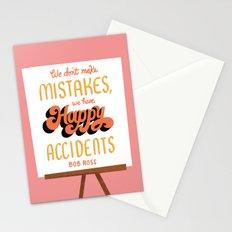 Bob Ross Stationery Cards