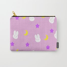 Usagi Print Carry-All Pouch