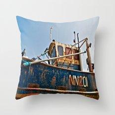 Dilapidated Throw Pillow