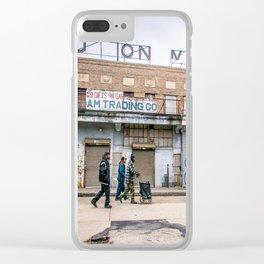 We Run These Streets Clear iPhone Case