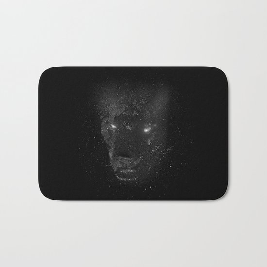Space Panther Bath Mat