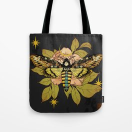 Death's Head Hawk Moth Tote Bag
