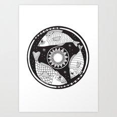 Magic Fish II Art Print