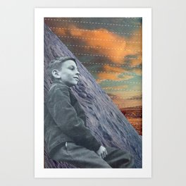 Look Out to the World Art Print