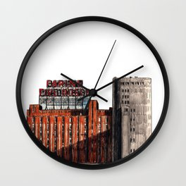 FIVE ROSES FLOUR REFINERY Wall Clock