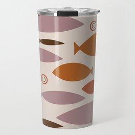 Geo Fish II Travel Mug