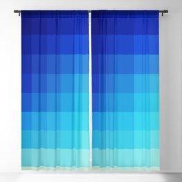 Abstract Deep Water Utukku Blackout Curtain
