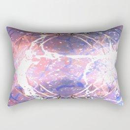 Abstract Ripple Reflection Rectangular Pillow