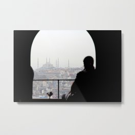 From Galata Tower Metal Print