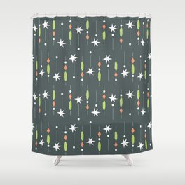 twinkle twinkle little snow Shower Curtain