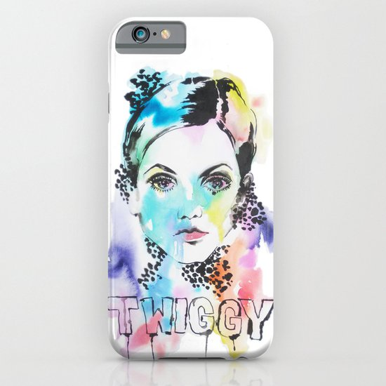 I heart Twiggy iPhone & iPod Case