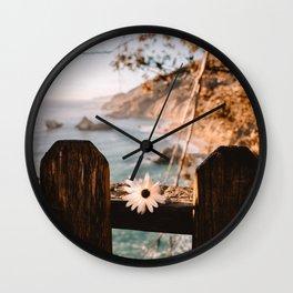 Big Sur Love Wall Clock