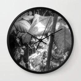 Grandmother's Roses Wall Clock