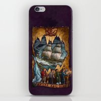 the goonies iPhone & iPod Skins featuring Goonies Never Say Die by Taylor Rose