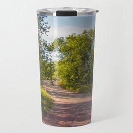 Backroad by the Knife River, North Dakota 2 Travel Mug