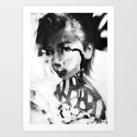 「Ai 」Mystic Art Print
