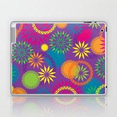 Spikeyflower Purple Laptop & iPad Skin