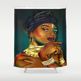 Unapologetic Shower Curtain