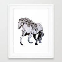 runner Framed Art Prints featuring Runner by Animart
