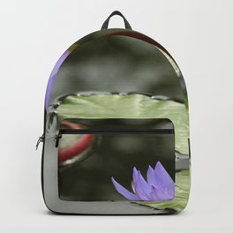 Beauty At The Pond Backpack