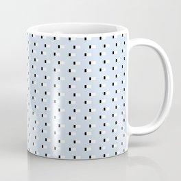 Minimal Squares - Steel Blue Coffee Mug