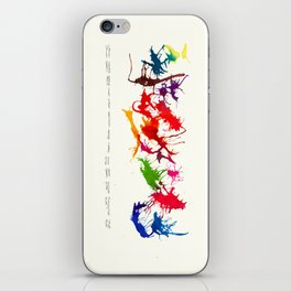 inferred  iPhone Skin