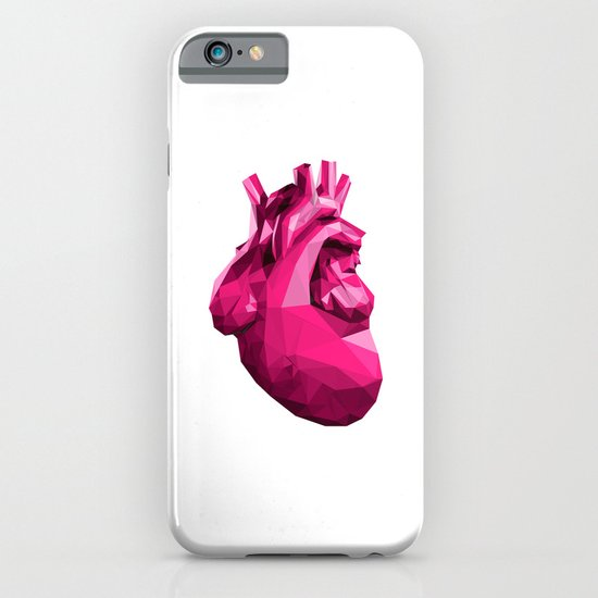 Heart - Pink iPhone & iPod Case